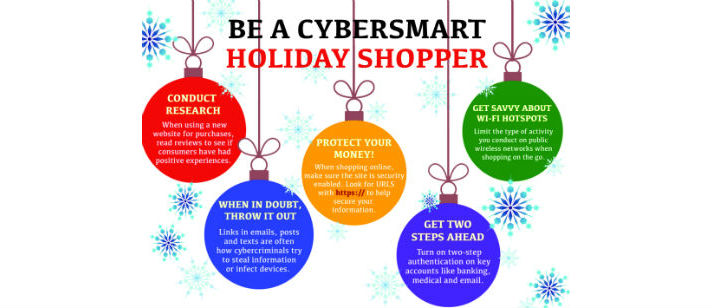 be a cybersmart holiday shopper