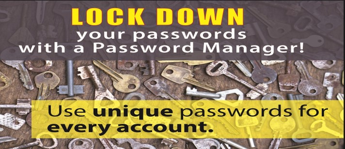 lock down your passwords